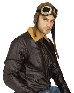 Aviator Cap w/Goggles