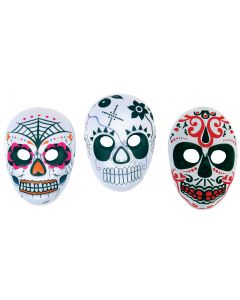 Day of the Dead Mask Assortment