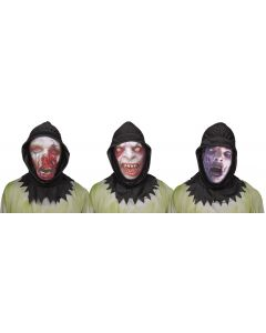 Hooded Ghoul Mask Assortment