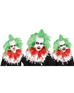 Creepy Clown 1/2 Mask Assortment