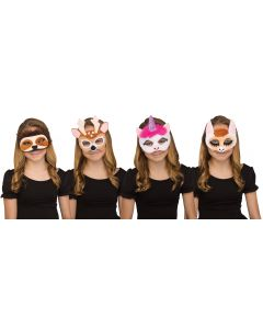 Furry Friends II Half Mask Assortment