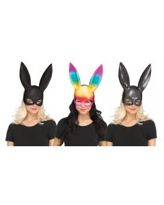 Glitter/Rainbow Bunny Mask Assortment