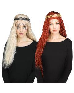 Goddess Tattoo & Headband Set