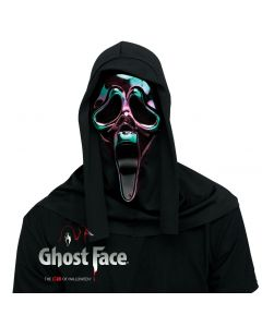 Oil Slick Ghost Face® Mask