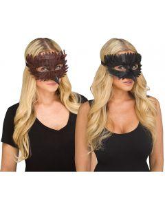 Raven Feather Mask Assortment