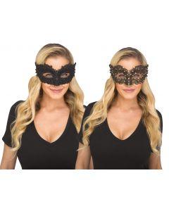 Sequin Gem Mask Assortment