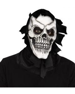 Skull Reaper Mask w/shroud