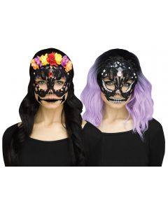 Lacy Skull Mask Assortment