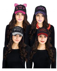 Halloween Bling Caps