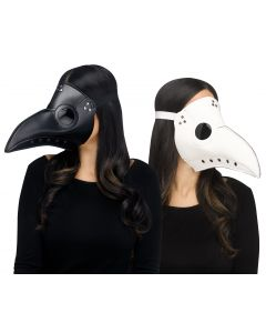 Faux Leather Plague Doctor Mask Assortment