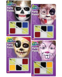 Face Painting Character Kits