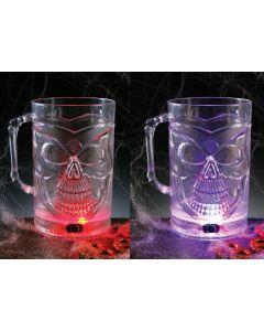 Color Change Skull Mug