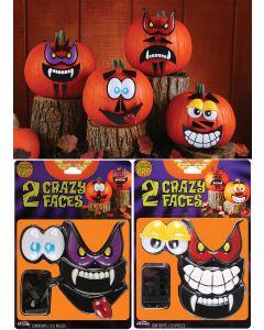 Mr. Pumpkin Faces Kit (12 Piece)