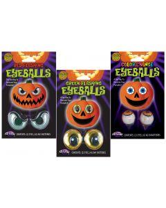 Lite-Up Pumpkin Eyeballs Assortment