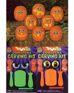 Light Up Mr. Pumpkin Faces
