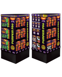 4 Sided Pumpkin Carving Tower