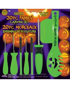 20 Piece Family Carving Kit