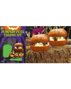 Pumpkin Pegs™ Carving Kit