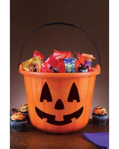 Trick or Treat Pumpkin Bucket