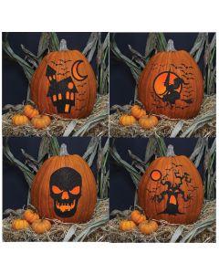 Glitter Stick 'n' Carve Pumpkin Kit