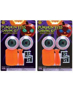 Pumpkin Eyes Carve & Light Kit PDQ