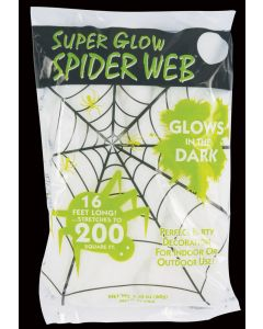 Super Glow™ Spider Web
