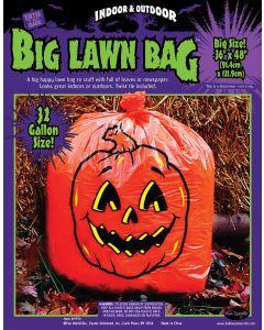 Pumpkin Lawn Bag Floor Display (72 Count)