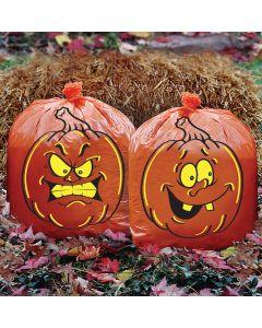 Pair O' Pumpkin Bags