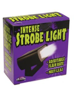 LED Intense Adjustable Strobe Light Try Me! PDQ