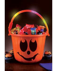 Light-Up Trick or Treat Safety Bucket