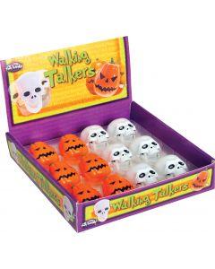 Wind-Up Walking Pumpkins & Skulls
