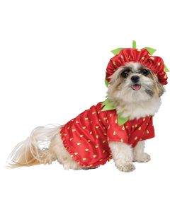 Strawberry Sweetie Pet Costume