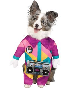 80's Dog Pet Costume