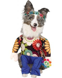 Hippie Doggie Pet Costume